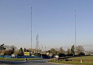 Washford transmitting station - Image: Washford Cross geograph.org.uk 687209