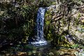 Waterfall on Bowyers Stream, Hakatere Conservation Park in Canterbury, New Zealand.jpg