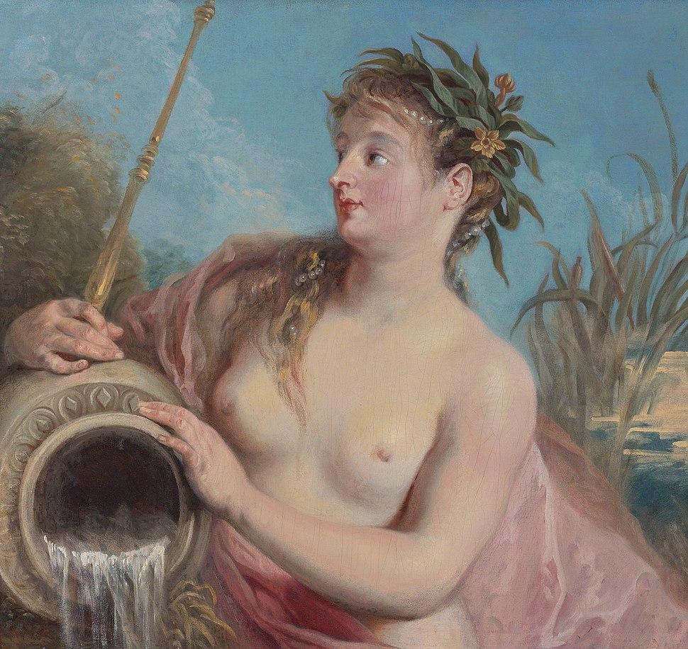 Watteau, Antoine - Quellnymphe - 1708