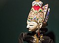Wayang menak puppet in the collection of the Great Mosque of Central Java, 2014-06-17.jpg
