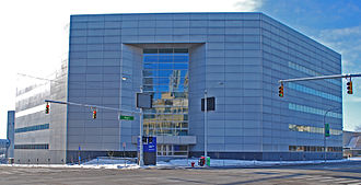 Wayne County Community College District - Headquarters at 801 W. Fort