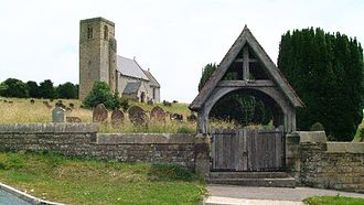 Weaverthorpe - The church of St Andrew, Weaverthorpe