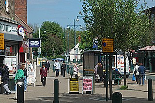 Wednesfield Village and residential area within the city of Wolverhampton, West Midlands, England