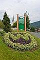 Weissensee Techendorf Blumeninsel vor dem Gemeindeamt 24072014 495.jpg