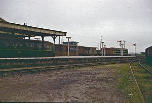 Wells-next-the-Sea railway station - Image: Wells NTS 3 63 copy