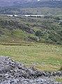 Welsh Highland Railway near Rhyd-Ddu - geograph.org.uk - 551978.jpg
