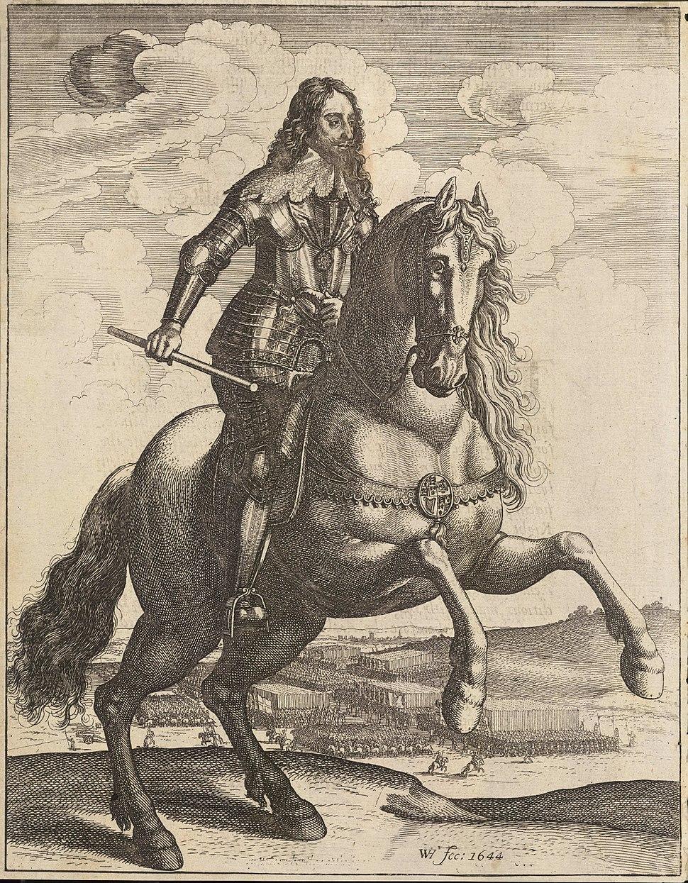 Wenceslas Hollar - Charles I (State 3)