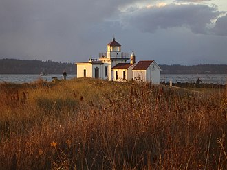 Discovery Park (Seattle) - Image: West Point Seattle lighthouse