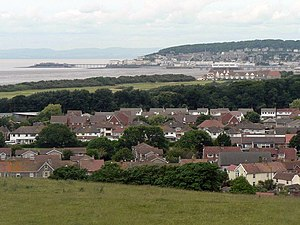 Weston-super-Mare - Image: Weston Super Mare view