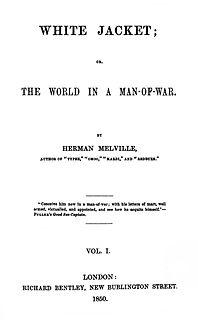 <i>White-Jacket</i> novel by Herman Melville