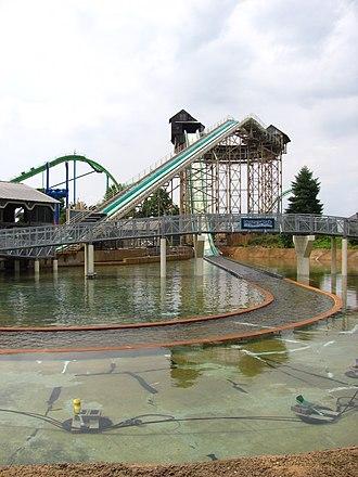 Dorney Park & Wildwater Kingdom - White Water Landing