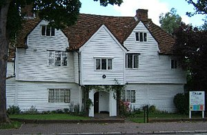 James Boevey - Whitehall in Cheam, built c. 1500, believed to have been Boevey's residence