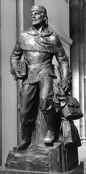 Marcus Whitman - Marcus Whitman, National Statuary Hall Collection, US Capitol