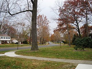 Whittier Oaks, New Jersey Unincorporated community in New Jersey, United States