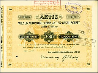 Gräf & Stift - Image: Wiener Automobilfabrik 1907