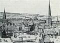 Wijks tegning af København - Højbro.png