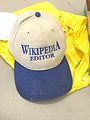 WikiDay 2015 - Wikipedia Editor - Hat.jpg