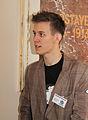 Wikiconference 2013 Prague, Vojtěch Dostál.jpg
