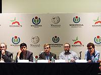 Wikimanía 2015 - Day 2 - Press Conference - LMM - México D.F. (8).jpg