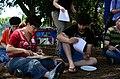 Wikipedians gathering 7949.JPG