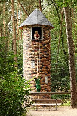 Wildpark Ostrittrum Märchenwald Rapunzel