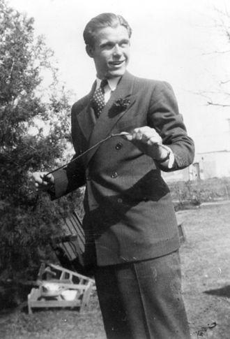 William Brinkley - Brinkley as a young man.