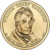 William Henry Harrison Presidential $1 Coin obverse.jpg