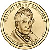 William Henry Harrison dollar