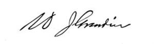 Grandin brothers - William J. Grandin Signature
