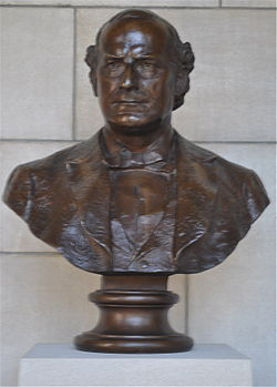 William Jennings Bryan Bust, Nebraska Hall of Fame.JPG