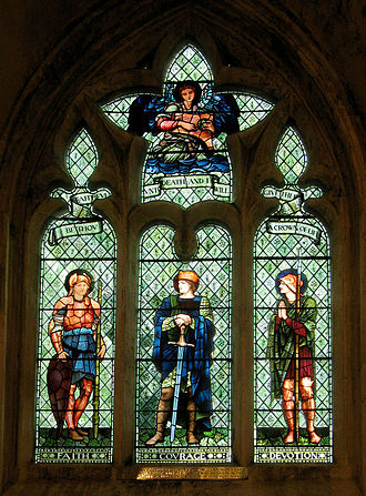 Morris & Co. - Image: William Scott Luce Window Malmesbury Abbey