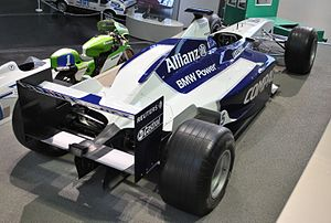 Williams FW23 - Image: Williams F1 BMW FW23 05 b