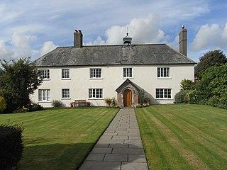 Winscott, St Giles in the Wood farmhouse in St. Giles in the Wood, Torridge, Devon, England