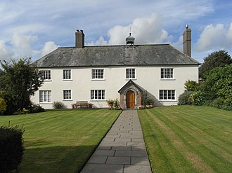 St Giles in the Wood - The present house of Winscott Barton