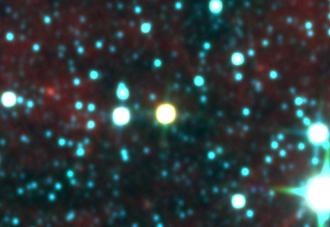 Luhman 16 - Image: Wise 1049 5319 Multi Color (No Marker, crop)
