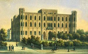 Friedrich von Gärtner - The Wittelsbacher Palace