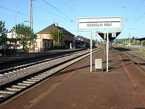 Wittlich - Main railway station