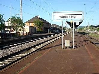 Wittlich - Main railway station