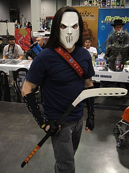 Cosplayer - Casey Jones tijdens Wizard World Anaheim 2011