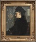 Woman in Black (Bertha Wegmann) - Nationalmuseum - 132632.tif