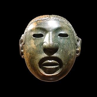 Human sacrifice in Aztec culture - Xipe Totec mask