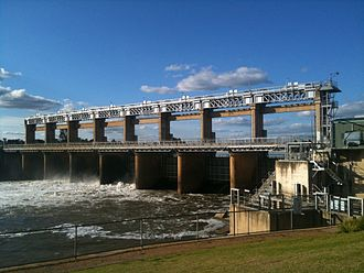 Murray–Darling basin - Image: Yarrawonga Weir