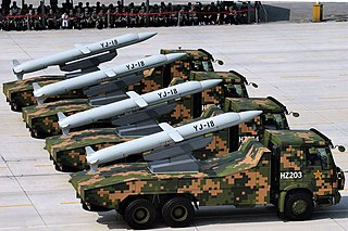 YJ-18 Anti-ship and land attack cruise missile