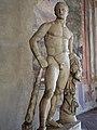 Youthful Beardless Herakles Roman copy of 5th century BCE Greek original by Polykleitos.jpg