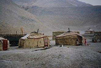 Kizilsu Kyrgyz Autonomous Prefecture - Yurt of the Kirghiz in Kizilsu