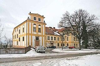 Dolní Přím Village in Czech Republic