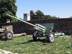 ЗИС-2 в Белградском военном музее.