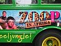 ZOOP in Afrika promotie bus Vivienne van den Assem Sander Jan Klerk.JPG