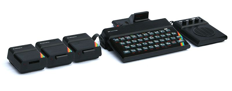 File:ZX Spectrum with three Microdrives, Interface 2 and Stonechip Echo Amplifier (7091693407).jpg