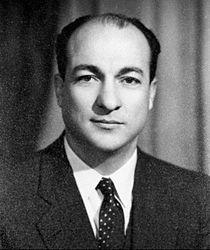 Zakaria Mohiedin as Interior Minister.jpg